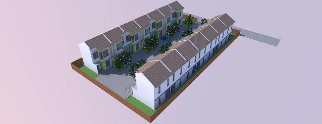 site plan perumahan pdf