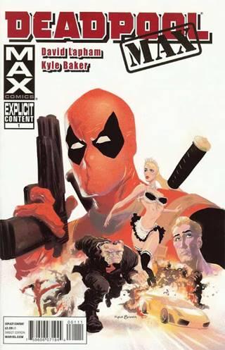 En MAX Comics Deadpool es más violento