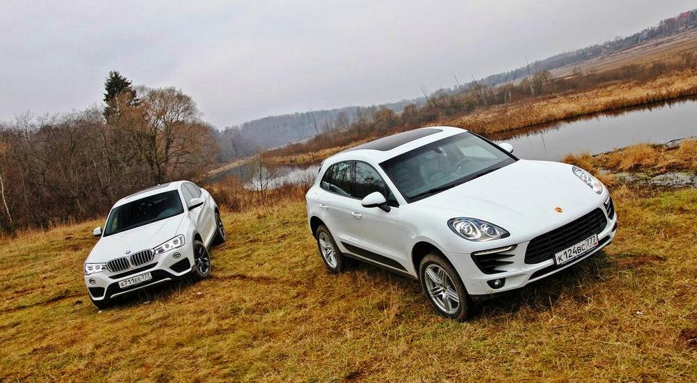 BMW X4 VS Porsche Macan