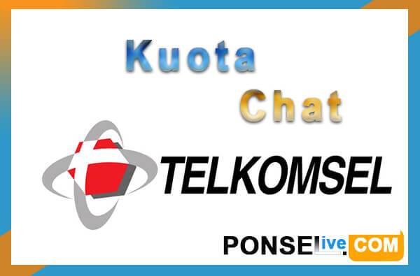 kuota chat telkomsel