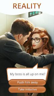 Jogo de simulação de romance para android