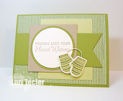 Friends Keep Your Heart Warm card-designed by Lori Tecler/Inking Aloud-stamps from My Favorite Things