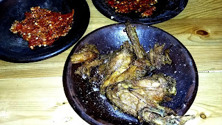 sayap ayam penyet hot
