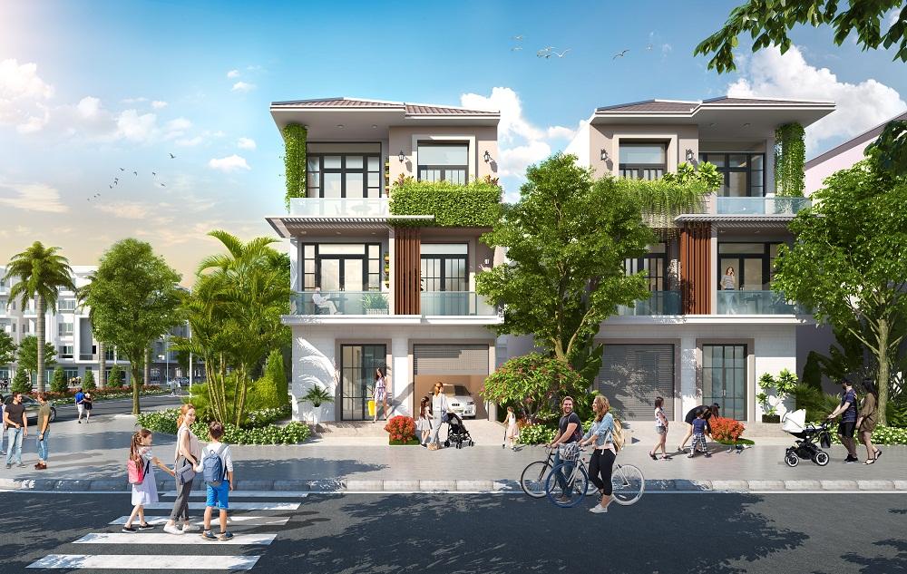 Mô hình không gian khu Biệt Thự Him Lam Green Park Đại Phúc