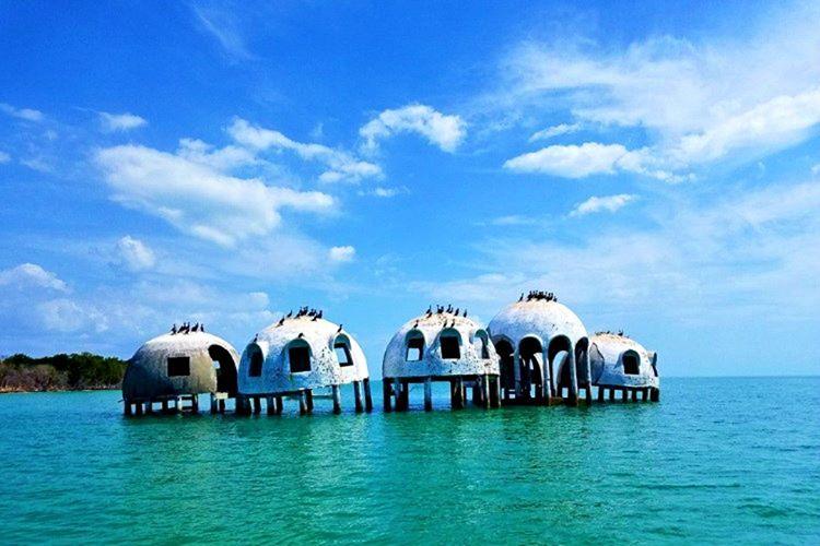 Florida Kubbe Evleri, Giappo Romano'daki bir petrol zenginin kullanımı için tasarlandı.