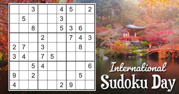 International Sudoku Day