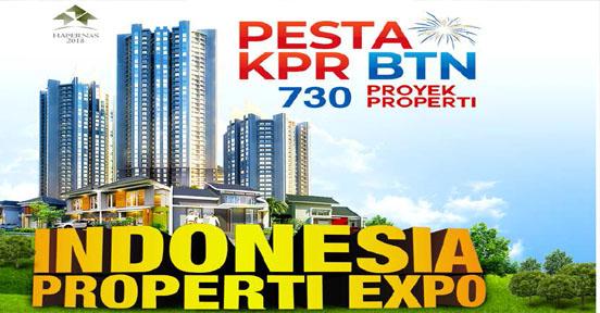 Pameran Pesta KPR BTN Property Expo 730 Proyek Perumahan