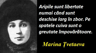 Maxima zilei: 8 octombrie - Marina Țvetaeva