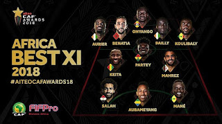 Checkout Africa's Best XI