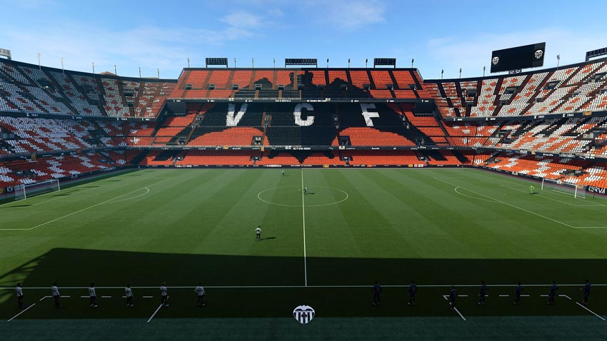 Stadium Mestalla For eFootball PES 2021