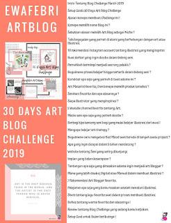 ewafebri artblog challenge ideas