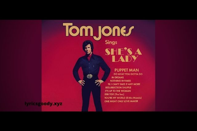 She's a Lady - Tom Jones & Paul Anka | Lyricsgoody