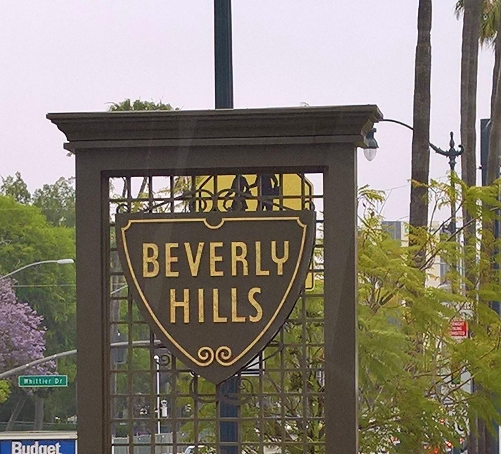 Beverly Hills Los Angeles kiertoajelu Mallaspulla matkakertomus