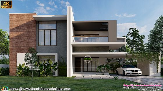 Contemporary style modern home
