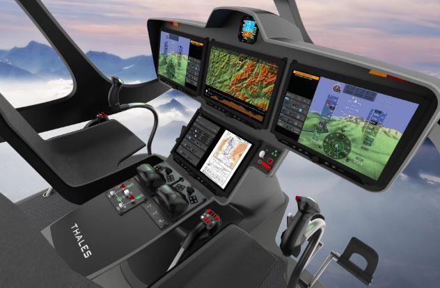 Airbus H160M Guepard cockpit