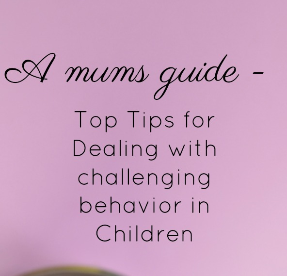 challenging behavior in children and kids