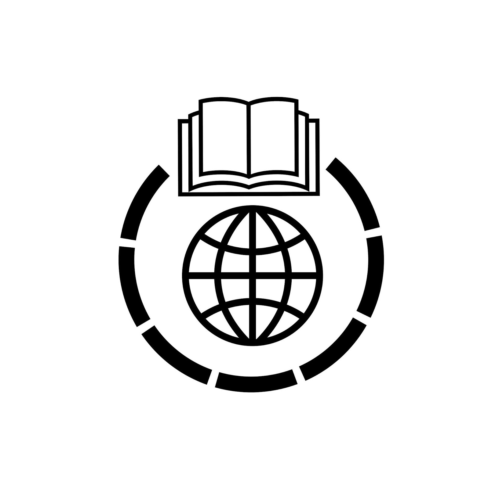 Illustration of learning online icon
