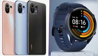 Mi 11 lite and Revolve active watch launched in inadia : Review, Price and Features