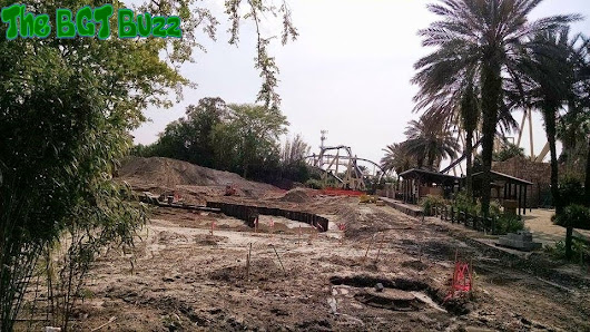 Busch Gardens Tampa Project 2016 : Construction Update #4