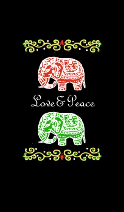 Love&Peace -Black-