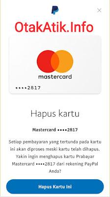 hapus kartu kredit vcc