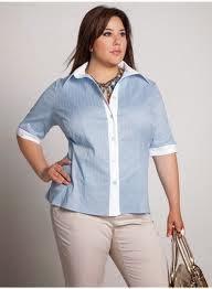 La blusa clásica es una prenda imprescindible en el armario de cualquier  mujer. Hoy vamos a ver un patrón gratis de blusa para tallas grandes y  algunas ... 2f2786155f05