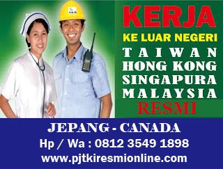 Apakah Ada Job Pabrik Taiwan Biaya Gratis Potong Gaji?.....
