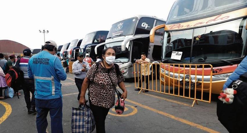 Más de 21 mil  cajamarquinos se registraron pero solo trasladarán 600