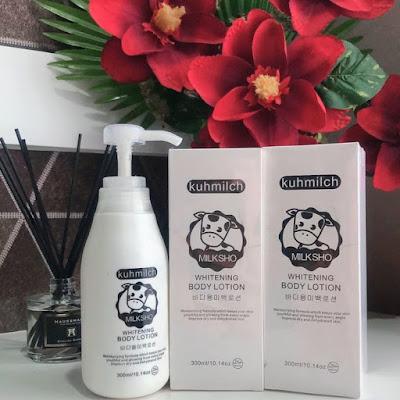 Kuhmilch Whitening Body Lotion Korea Terlaris
