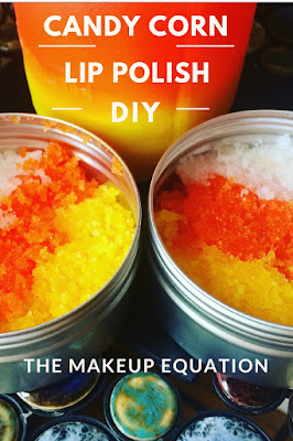 candy corn lip scrub