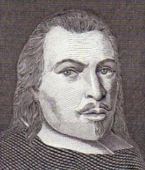 Rostro del Conde de Villamediana, con cabello largo, bigote delgado y perilla