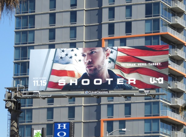 Daily Billboard: Shooter series premiere TV billboards ... Ryan Phillippe Series
