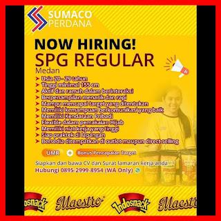 SPG Regualar di PT Sumaco Perdana