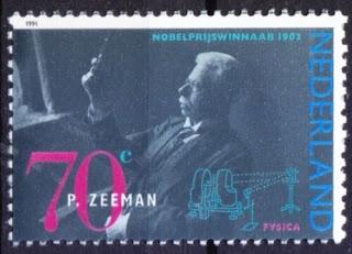 Netherlands 1991 MNH, Pieter Zeeman Nobel Physics Winner in 1902