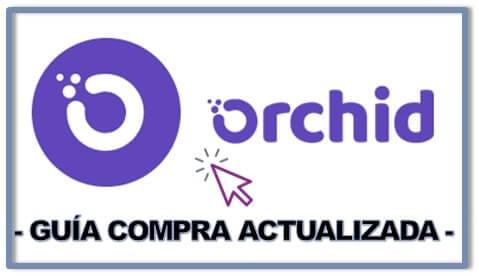 Comprar y Guardar en Wallet Orchid (OXT) Guía Fácil