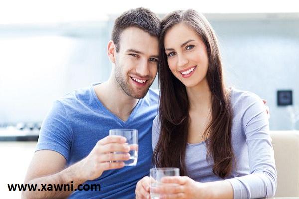 فوائد شرب الماء بعد العلاقة الحميمية
