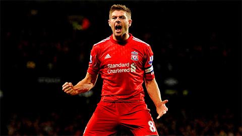 Steven Gerrard, thủ quân của Liverpool.