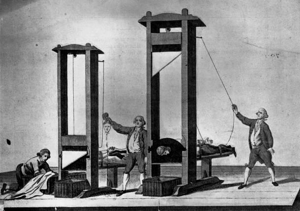 25 การทรมานโหดที่สุดในโลก กิโยติน (Guillotine)