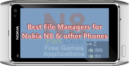 Best File Manager Applications for Nokia N8 & other Belle Smartphones - Download