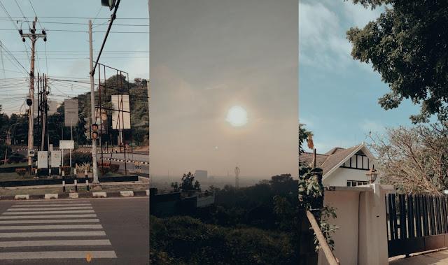 Semarang pagi hari