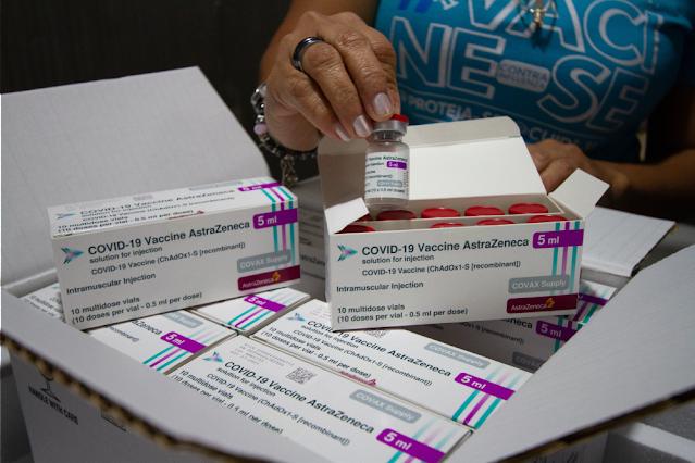 Mais 165,1 mil doses de vacinas chegam a Pernambuco