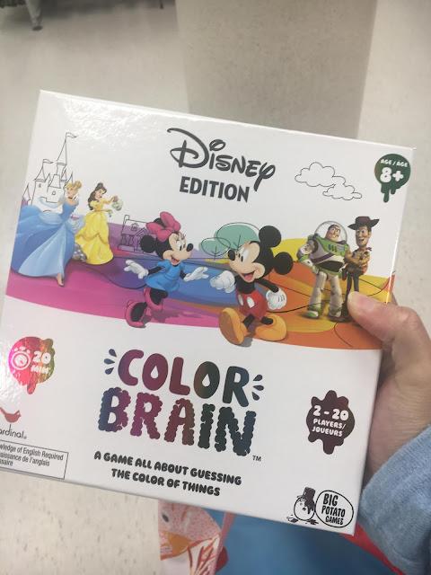Disney Colour Brain Board Game