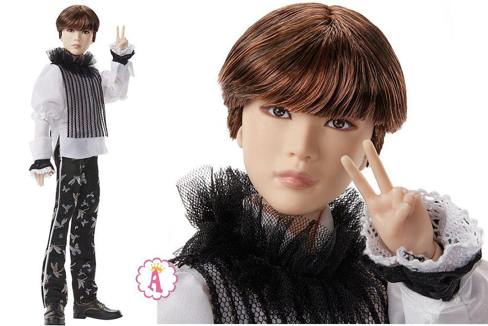 Кен Сюга шарнирная кукла барби SUGA BTS Prestige doll 2020
