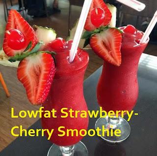 strawberry cherry smoothie recipe