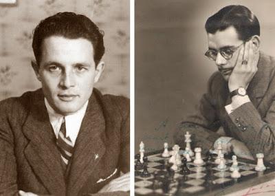 Los ajedrecistas españoles Francisco José Pérez y Antonio Medina