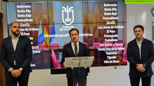 El Cabildo destina 5 millones de euros para ayuda a las empresas palmeras