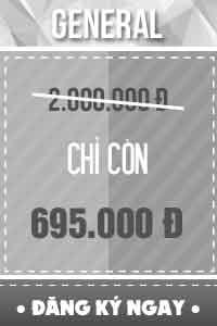 Vé GENERAL - 695.000 đ