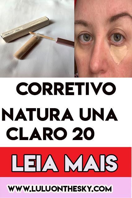 Corretivo Natura  Una Alta Cobertura Claro 20