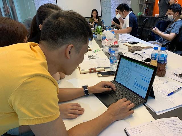 Đào tạo Ms Project tại Công ty Thủ Đô Multimedia 2