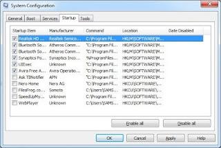 Cara Mengatur Aplikasi yang Terbuka Otomatis Saat Komputer dinyalakan di Windows 7